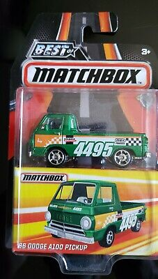 2016 BEST OF Matchbox SERIES 1  66 DODGE A100 PICKUP  MINT