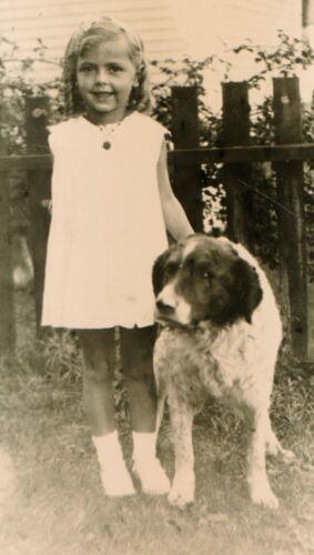 Vintage Snapshot Darling Little Girl ID
