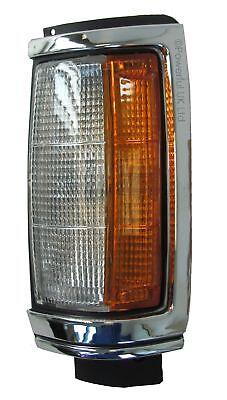 Front LH corner side indicator lamp chrome+black Mitsubishi L200 K22 N/S pickup