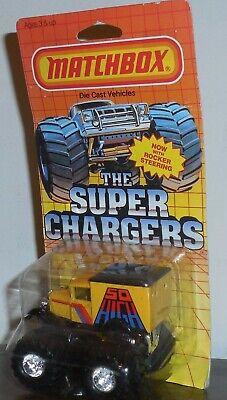 Matchbox Super Chargers SO HIGH Mosc New Monster Truck - Super Monster High