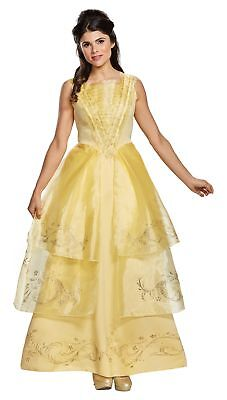 chsene Damen Kostüm die Schöne und Biest Disney Prinzessin (Erwachsenen Belle Prinzessin Kostüm)