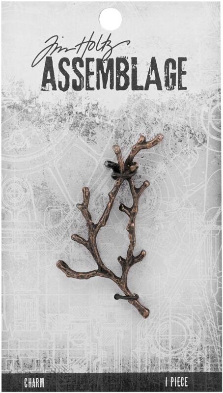 Tim Holtz Assemblage Charm  -Branch