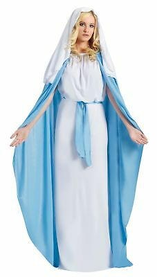 Biblical Virgin Mary Costume Women Adult Religious Christmas Halloween Bible - Biblical Costumes For Women