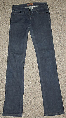 Watch La Skinny Denim Stretch Jeans Colored Pants Blue Low Rise Size 3
