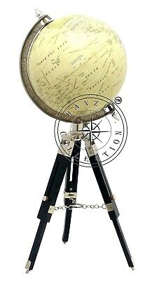 rom Weltkarte Globus Ornament mit hölzernen Stativ Dekor (Globus Ornament)