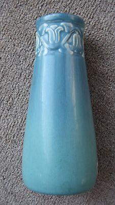 "Lovely Vintage Rookwood Blue-Green Bellflower Vase ""XXVII"" 1927 #2111 -Exc."