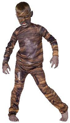 Child Mummy Costume - Living Fiction - Boys Size 12-14 -- Free Shipping (Kid Mummy Costume)