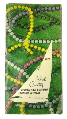 Vintage 1972 Sarah Coventry Spring & Summer Fashion Jewelry Catalog