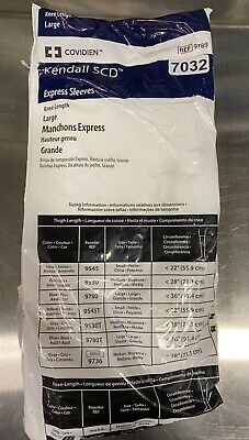New Kendall Scd Express Sleeves. Ref 9789 Large Lot Of 38 In Date 7032