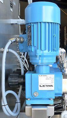 Lewa Esc 0006-13 Ecodos Sanitary Hygienic Diaphragm Metering Pump Motor