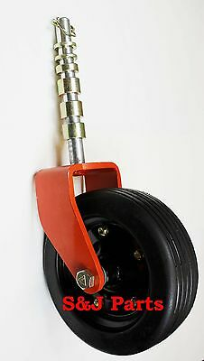 Complete Heavy Duty Bush Hogwoods Rhino Finish Mower Wheel Assembly 10 X 3.25