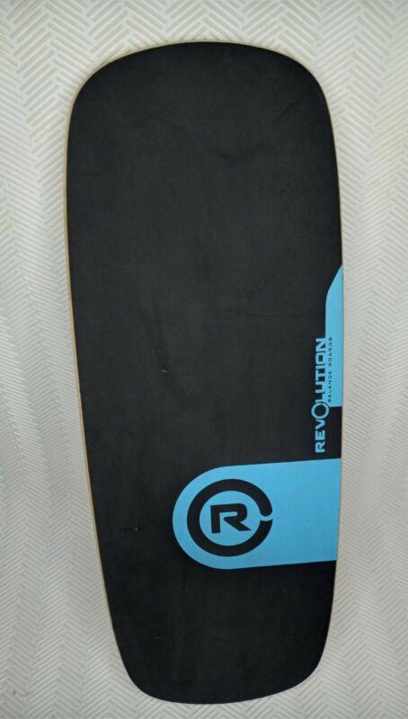 REVOLUTION BALANCE BOARDS WOOD BOARD TRAINING SURF SKATE FITNESS Board Only!
