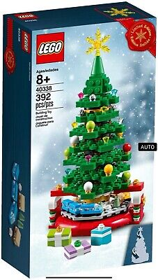 LEGO 40338 Limited Edition Christmas Tree Exclusive Holiday Train Brand New