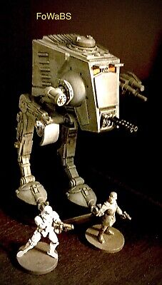 Star Wars Imperial Assault  AT-ST Painted By Faces of War at Bulldog Studios