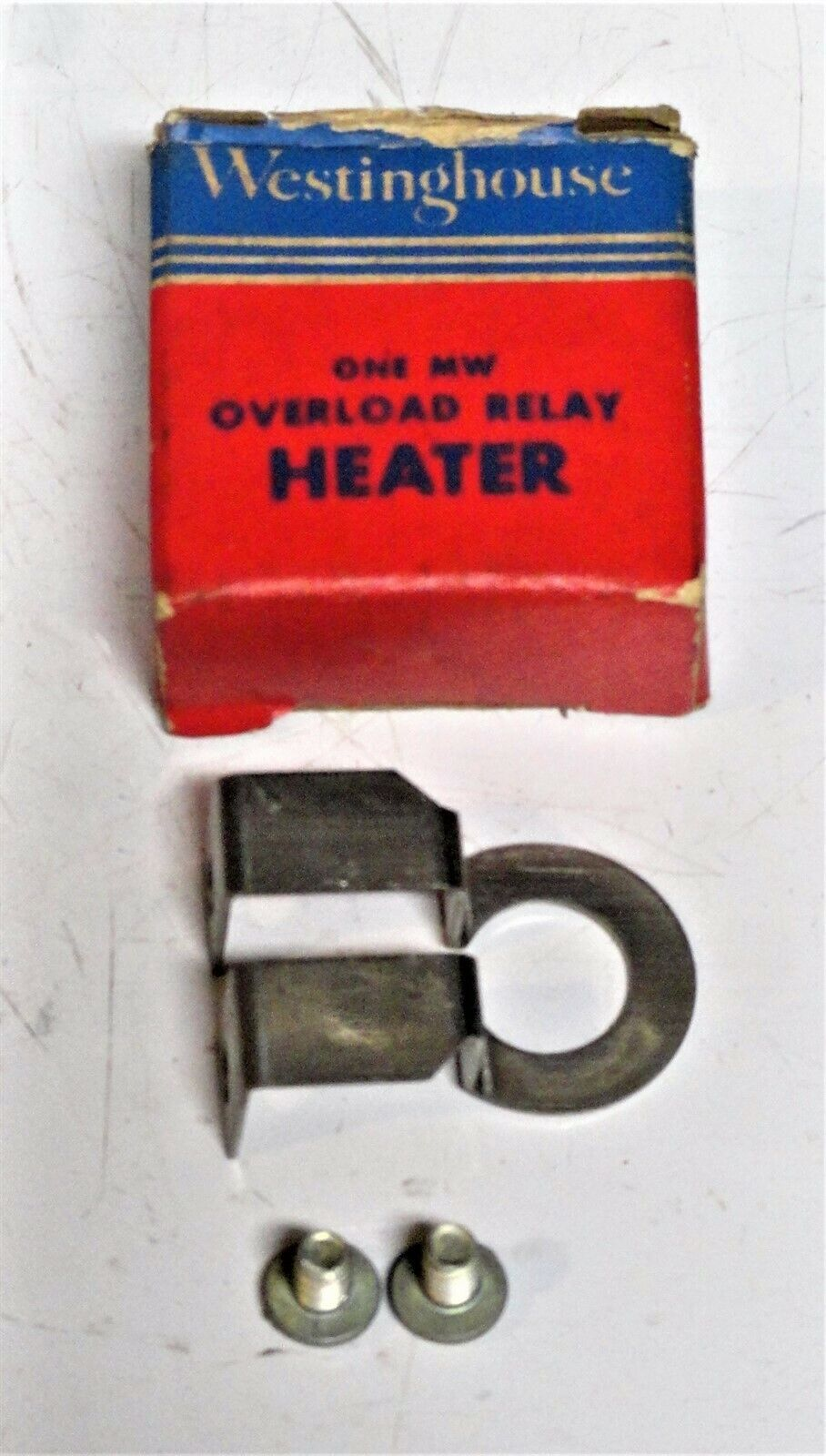 Lot of 2 Westinghouse AX-6.8 Overload Relay Heaters AX68