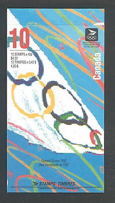 Canada 1992 Summer Olympics # 1418 B Booklet BK146 MNH