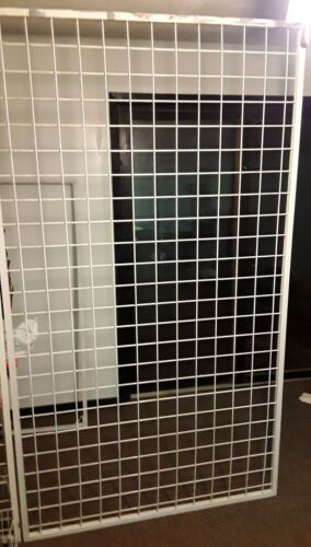 Heavy Duty Grid Steel Panels (48 inches Wide x 84 inches Tall)