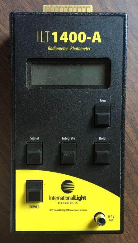 International Light Technologies ILT1400-A Radiometer Photometer