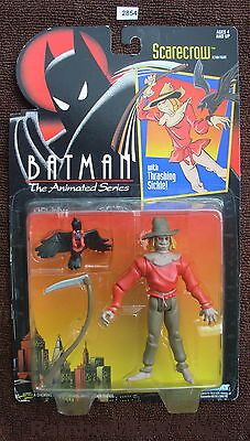 Scarecrow From Batman (1993 SCARECROW from Batman The Animated Series by Kenner MOC ( Figure)