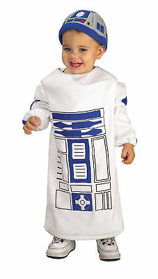 Star Wars R2D2 Infant Costume Soft Printed Tunic Halloween Fancy Dress Rubies (R2d2 Baby Halloween Costume)