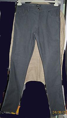 NEUF Pantalon fashion coupe jean BYBLOS Italie W34 (42/44) skinny ultra stretch  segunda mano  Embacar hacia Mexico