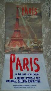 PARIS IN THE LATE 19th CENTURY National Gallery of Aust 1997