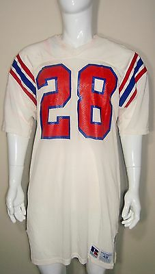 Game Used Worn Team Issued NFL New England Patriots Vintage 80 s 90 s Jersey   28 d5a47cfae