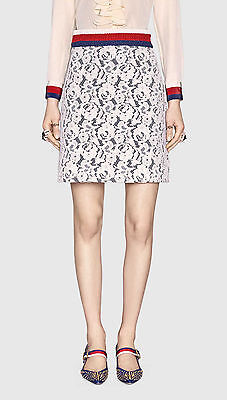 NWT Gucci Jersey and Lace skirt, size M ()