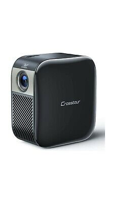 Crosstour Mini Projector Portable DLP Pocket Projector Full HD 1080p Supported