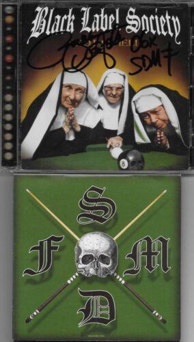 Black Label Society/Zakk Wylde STUNNING AUTOGRAPH W/ALTERNATE CD COVER ART/LOOK!