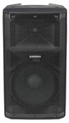 "Samson RS112A 12"" 400 Watt Powered Active Bi-amped DJ PA Speaker w/Bluetooth/USB"