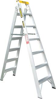 dual purpose (double sided) ladder 2.1-3.9m