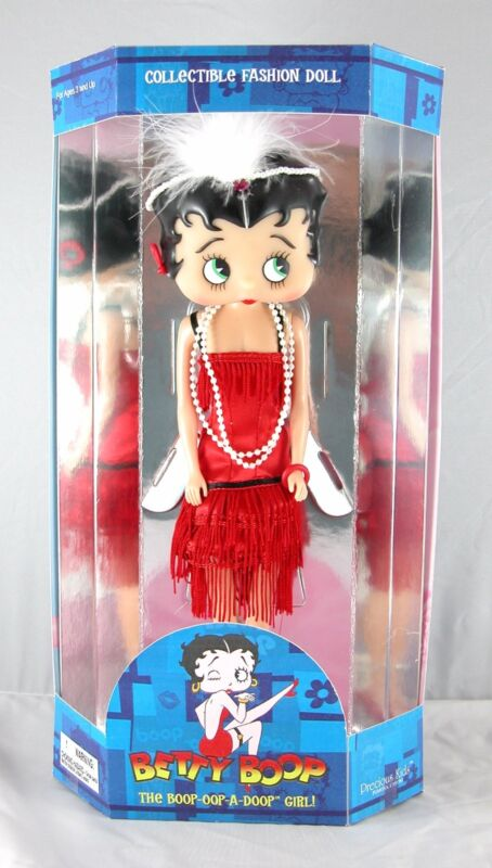 """Betty Boop Flapper Doll 12"""" Collectiable  Figure New"""