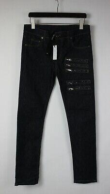 ARMY OF ME AUTUMN / WINTER 2013 Men's W33 Rigid Stretchy Zip Décor Jeans 28771 s