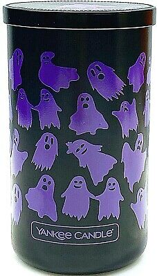 Yankee Candle HAUNTED HAYRIDE 12oz Medium Pillar LE Candle Halloween Collectible