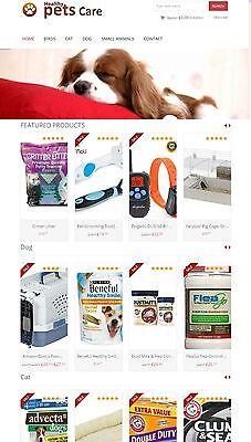 Amazon Affiliate Website - Pet Supplies Pet Accessories Store Ecommerce