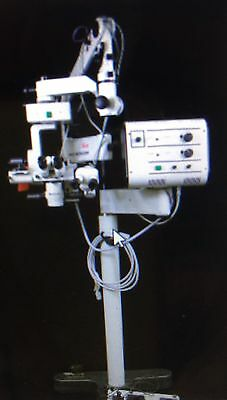 Leica  Wild M690 With Xy Auto Center Ophthalmic Surgical Microscope