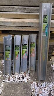 Retaining wall steel posts NEVER USED.