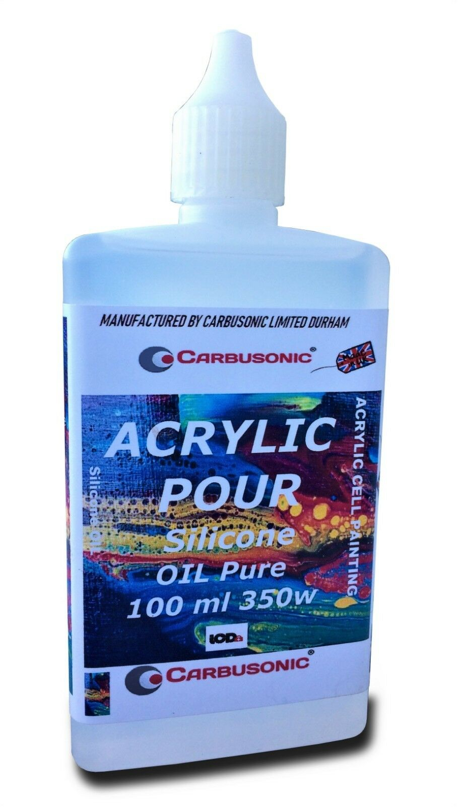 Silicone Oil Acrylic Pouring Medium Cell Creator Pure Polydimethylsiloxane