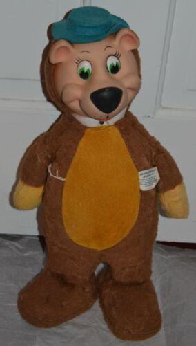 "VINTAGE 1959 Yogi Bear 18"" Stuffed Plush Doll Knickerbocker Toy Company"