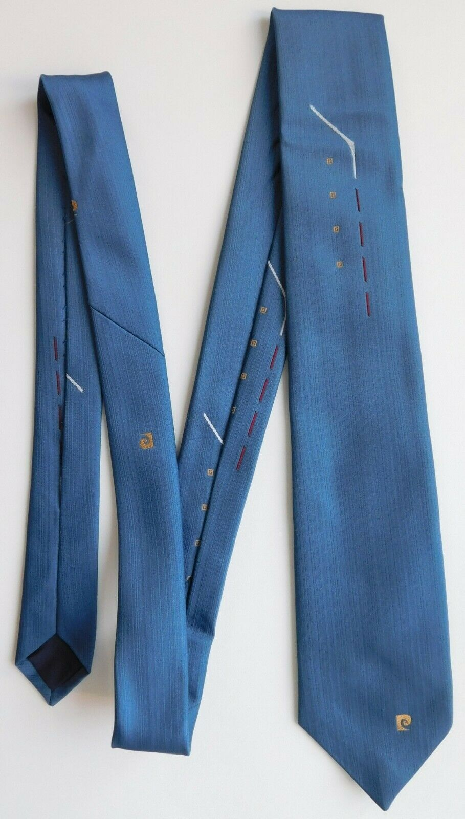 Vintage tie Pierre Cardin Paris British made 1960s 1970s mens accessories