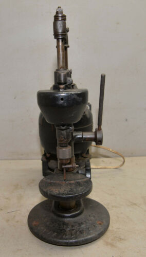 Langelier Mfg USA watchmaker jewelers drill press collectible cast iron tool