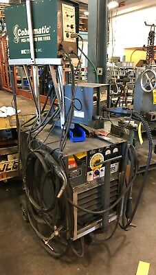 Lincoln Arc Welder Dc-400 Output 400 Amps Dc At 36 Volts With Ln-7 Wire Feeder