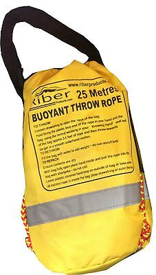 25m Riber Throwbag Throwline Rescue Rope Kayak Canoe Safety Emergency Gear