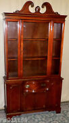 Antique Mahogany Hutch