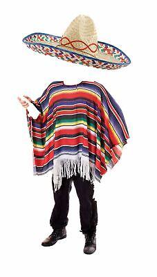 m Poncho und Sombrero Zubehör (Poncho Und Sombrero Kostüm)