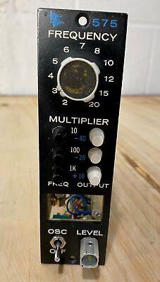 API 575 oscillator