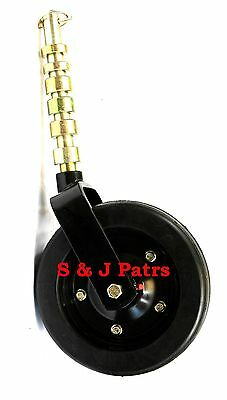 Complete Bush Hog Rhino Woods Finishing Mower Wheel Assembly 10 X 3.74