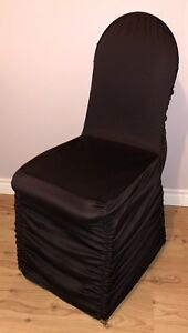 100 NEW wrinkle Free Banquet Chair Covers