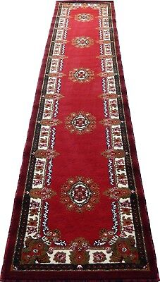 Runner Persian Medallion Woven 3x10 Area Rug Red/Cream Actual Size 2'3 x 10'10' 2'3'x10' Runner Area Rug